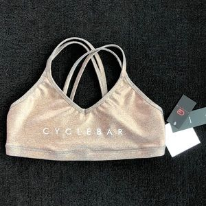 Beyond Yoga x CycleBar Bra